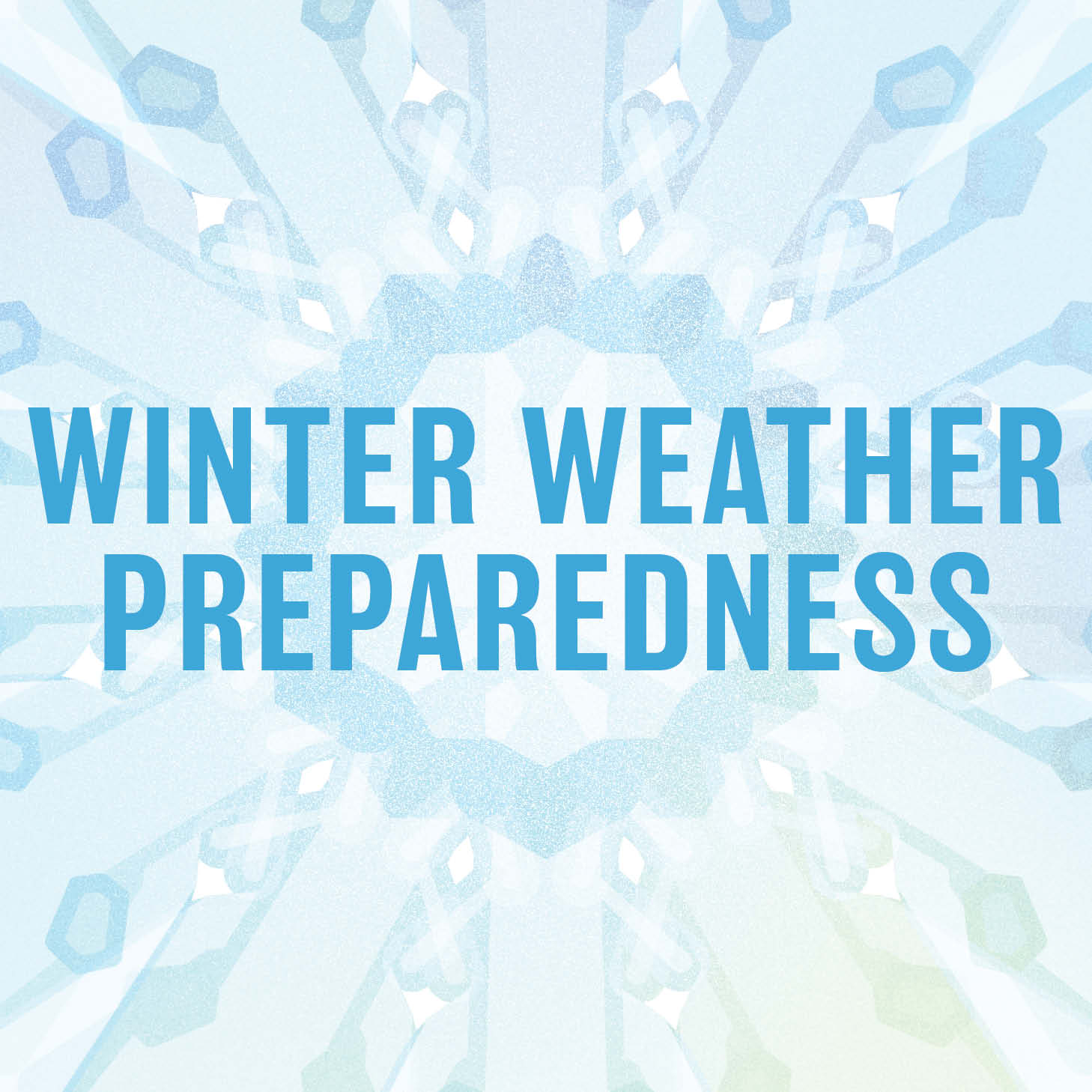 Winter Weather Preparedness