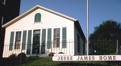 Jesse James Home today