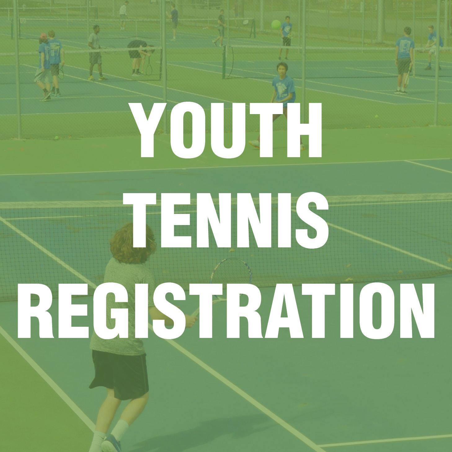 Youth Tennis Registration