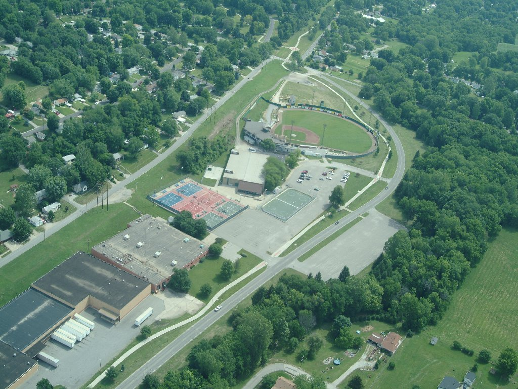 Bode Fields Aerial View