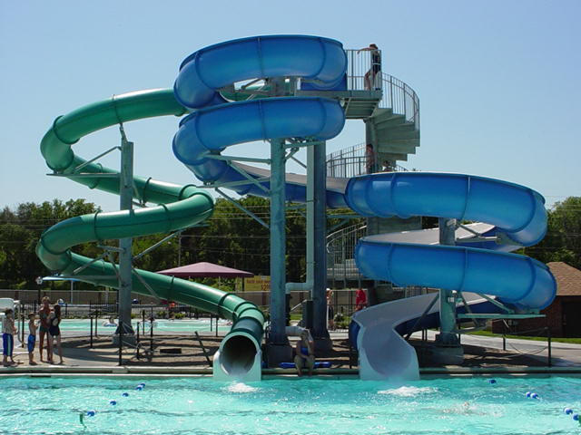Aquatic Park slides